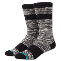 Stance Men's Mission Gray Crew Neck Socks
