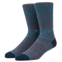 Stance Men's El Cap Navy Crew Neck Socks