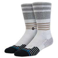 Stance Men's Silverlinings Crew Cut White Socks