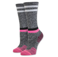 Stance Women's Burn Crew Cut Gray Socks