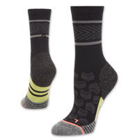Stance Women's Rival Crew Cut Black Socks
