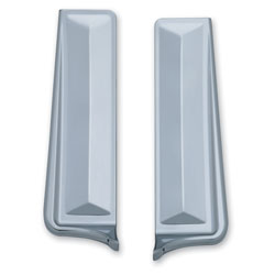 Kuryakyn Chrome Saddlebag Filler Panels
