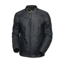 Roland Sands Design Men's Carson Black Leather Jacket