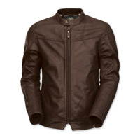 Roland Sands Design Men's Walker Brown Leather Jacket