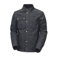Roland Sands Design Men's Truman Black Waxed Cotton Jacket