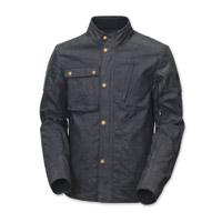 Roland Sands Design Men's Truman Black Waxed Cotton Jacket