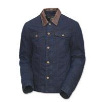 Roland Sands Design Men's Bronson Indigo Denim Jacket