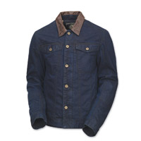 Roland Sands Design Men's Bronson Indigo Denim Jacket