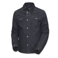 Roland Sands Design Men's Ramone Black Cotton Duck Jacket