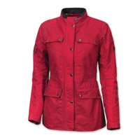 Roland Sands Design Women's Ginger Red Waxed Cotton Jacket