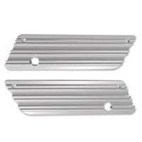 Arlen Ness 10-Gauge Saddlebag Chrome Latch Cover