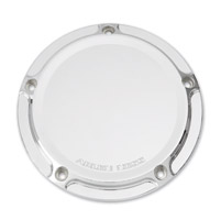 Arlen Ness Beveled Chrome Derby Cover