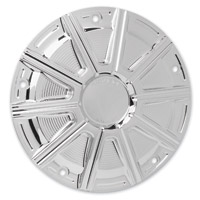 Arlen Ness 10-Gauge Chrome Derby Cover