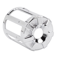 Arlen Ness Beveled Chrome Oil Filter Cover
