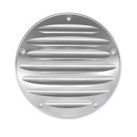 Arlen Ness Deep Cut II Chrome Derby Cover