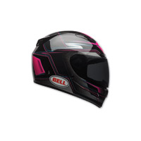 Bell Vortex Marker Pink/Black Full Face Helmet