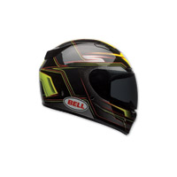 Bell Vortex Marker Hi-Viz Yellow Full Face Helmet