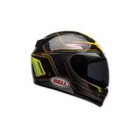 Bell Vortex Marker Hi-Viz Yellow Full Face Helmet