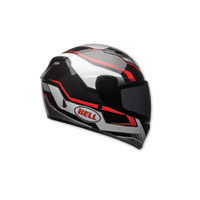 Bell Qualifier Torque Black/Red Full Face Helmet