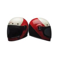 Bell Bullitt Triple Threat Red/Black Full Face Helmet