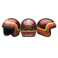 Bell Custom 500 Hart Luck Open Face Helmet