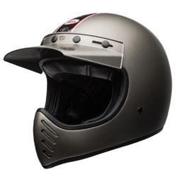 Bell Moto-3 Independent Matte Titanium Full Face Helmet