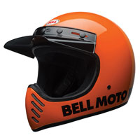 Bell Moto-3 Classic Flo Orange Full Face Helmet