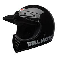 Bell Moto-3 Classic Black Full Face Helmet