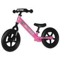 Strider Sports International Inc. Harley-Davidson No-Pedal Pink Bike