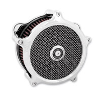Performance Machine SuperGas Air Cleaner Chrome for 58mm Throttle Bodies