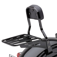 Cobra Sissy Bar Black Luggage Rack