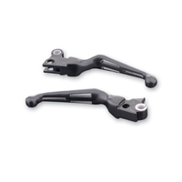 3-Slot Handlebar Lever Set Black