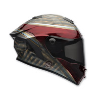 Bell Star RSD Blast Dark Red/Black Full Face Helmet