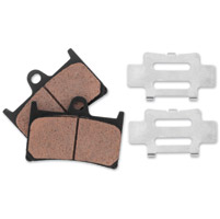 BikeMaster Front Brake Pads With Shim