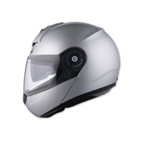 Schuberth C3 Pro Gloss Silver Modular Helmet