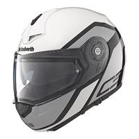 Schuberth C3 Pro Observer White Modular Helmet