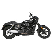 TAB Performance 4″ Chrome with Black Tip Mufflers