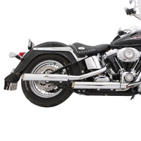 TAB Performance Chrome Baloney Cut Slip-on Exhaust