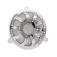 Arlen Ness 10-Gauge Chrome Speaker Grills