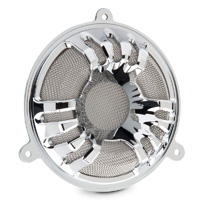 Arlen Ness Deep Cut Chrome Speaker Grills