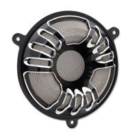 Arlen Ness Deep Cut Black Speaker Grills
