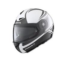 Schuberth C3 Pro Women's Classic Silver Modular Helmet