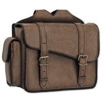 River Road Classic Box Saddlebags With Quick Release Straps