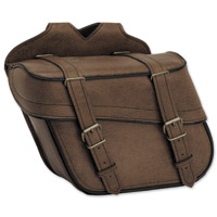 River Road Classic Slant Saddlebags with Quick Release Straps