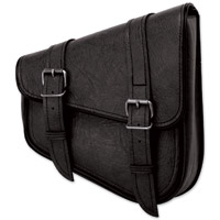 River Road Classic Right Side Mount Black Swingarm Bag