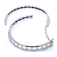 Add On LED Chrome Rotor Cover Light Rings