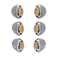 Add On Amber LED Fork Light Kit Amber