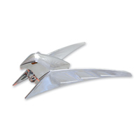 Add On Chrome LED Lighted Eagle Ornament