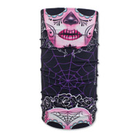 ZAN headgear Sugar Skull Motley Tube