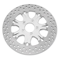 Performance Machine Chrome Rear Brake Rotors